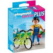 Playmobil 4791 - Idraulico Con Bici