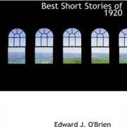 Best Short Stories of 1920 by Edward J O'Brien