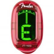 Fender California Series FT-1620 Afinador Cromático Vermelho