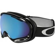 Oakley A-FRAME 2.0 Snowboardbrille in jet black/prizm sapphire iridium, Größe M