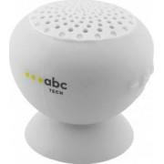Boxa Portabila Abc Tech Waterproof Cu Microfon Alb