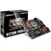 ASRock H170M Pro4S Carte mère Intel Micro ATX Socket 1151