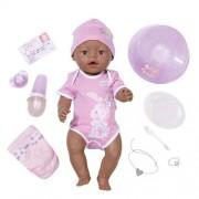 Zapf Creation 818718 - Baby Born, bambola etnica interattiva