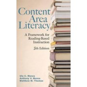 Content Area Literacy by Anthony V. Manzo