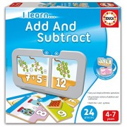 Educa 16418 - Gioco Educativo I Learn. Add And Subtract