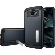 Spigen Pokrowiec na telefon Spigen 555CS20024, Pasuje do modelu telefonu: Samsung Galaxy S7, czarny