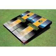 All American Tailgate NCAA Field Long Strip Matching Cornhole Board ALMT1081 NCAA Team: Baylor University Arch 1