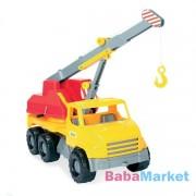 Wader Nagy sárga daruskocsi - 43 cm-es