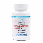 Beta Caroten cu Seleniu 60 capsule