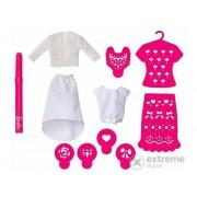 Set Barbie - accesorii pentru Airbrush Designer - roz (MATTEL-CMJ64)