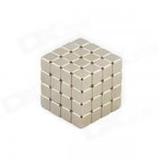 CHeerlink CT-64 5mm Square Neodymium Iron Boron Magnets Ball DIY Educational Toys Set - Silver