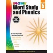 Spectrum Word Study and Phonics, Grade 5 by Spectrum