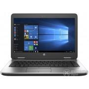 "Laptop HP ProBook 640 G3 Z2W32EA 14"", negru + Windows 10 Professional, layout tastatura maghiara"