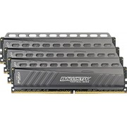 Ballistix Tactical Kit Memoria RAM DDR4 da 16 GB (4 GBx4), 2666 MT/s (PC4-21300), MM 288-Pin - BLT4C4G4D26AFTA