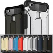 Funda Huawei P9 Lite Case, [Doble Capa] TPU y Policarbonato Carcasa de Protección Hibrida Armadura Funda para móvil Huawei P9lite