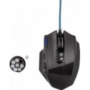 Mouse Gaming Optic Hama uRage MMORPG 4000DPI Negru