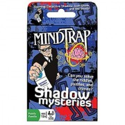 Mind Trap Mystery Card Game - Shadow Mysteries - the Ultimate Crime Mystery Card Game