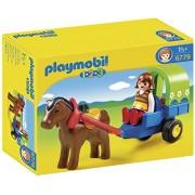 Playmobil 1 2 3 Pony Wagon, Multi Color
