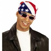 Zonnebril U.S.A. rechthoekig