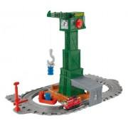 Thomas and Friends - Cranky, circuito portátil grúa (Mattel R9112)
