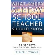 What Every Sunday School Teacher Should Know by Elmer L Towns