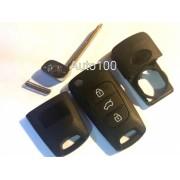 Carcasa telecomanda cheie Hyundai / Kia tip briceag cu 3 butoane lama ascutita