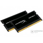 Kit memorie notebook Kingston (HX316LS9IBK2/8) HyperX Impact Black 1,35V 8GB DDR3