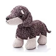 Aurora World Fabbies Dachshund Plush Toy (Medium, Brown/Light Brown/White)