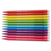 Sharpwriter Mechanical Pencil, Hb, 0.7 Mm, Assorted Color Barrels, 12/pack