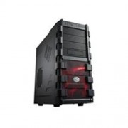 Skrinka CoolerMaster HAF-912 Plus Black Chassis w/o PSU