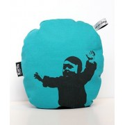 Kurtis mini voedingskussen turquoise - SALE