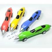 Littfun Racing Car Ballpoint Pens Novelty Gift Pen Super Fashion Cool Toys (Set of 4)