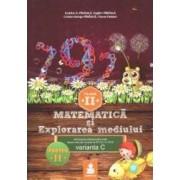 Matematica si explorarea mediului - Clasa 2 - Partea A II-A - Varianta C - Ed.2015 - Dumitru D. Paraiala