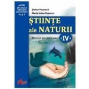 Stiinte ale naturii Cls 4 - Stefan Pacearca Maria-Luiza Popescu