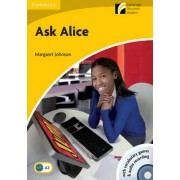 Ask Alice Level 2 Elementary/Lower-Intermediate with CD-ROM/Audio CD by Margaret Johnson