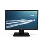 """Acer V206HQLAb Monitor da 19.5"""" LED, Risoluzione 1600 x 900, Contrasto 100M:1, Luminosità 200 cd/m2, Tempo di Risposta 5 ms, VGA, Vesa Mount, Inclinazione -5°/25°, Nero"""