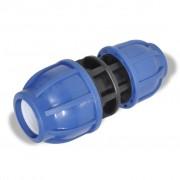 PE slangkoppeling reductie koppelstuk 16 bar 32 > 25 mm (2 stuks)