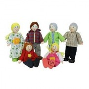 Hape-Wooden Happy Family-Caucasian