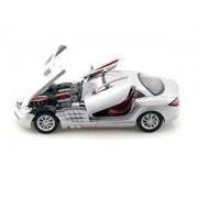 MotorMax scala 1:24 Mercedes-Benz SLR McLaren metallico Die-Cast Model Car (Grigio Scuro)