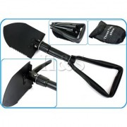 Portable Camping Hiking Military Survival Garden Mini Folding Shovel with Case