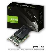VC, PNY Quadro Kepler K620, 2GB GDDR3, 128bit, PCI-E 2.0 (VCQK620-PB)