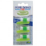 Set capete sensitive nylon pentru periuta - Monte Bianco Longeviv.ro