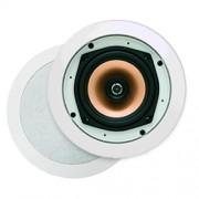 Badkameraudio Aquasound Samba DT Speaker Inbouw Rond 23x7.8cm Mat Chroom