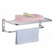 Towel Rack with Shelf