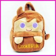 Cute Brown Cookie Run Baby Bag Stuffed Soft Plush Toy