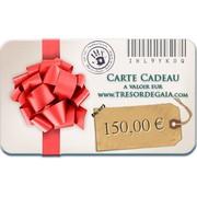 Carte Cadeau Bijoux de 150 euros