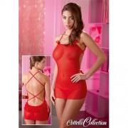 Еротична пижама Red Ruffle