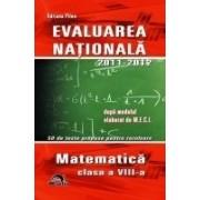 EVALUAREA NATIONALA- Matematica.