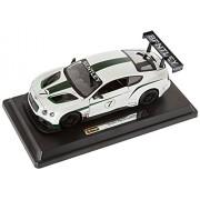 Bburago - 2043146 - Véhicule Miniature - Modèle À L'échelle - Race Bentley Continental Gt3 - Echelle 1/24