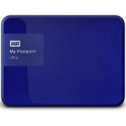 """HDD Extern Western My Passport Ultra, 1TB, 2.5"""", USB 3.0 si USB 2.0, Albastru"""